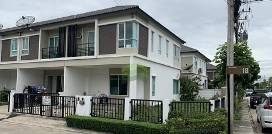 หมู่บ้าน ดีไลท์ เดอ ลอฟท์ ดอนเมือง รังสิต Delight The Loft Donmeung-Rangsit ขายด่วน ทาวน์โฮม 2 ชั้น เนื้อที่ 47.50 ตร.ว แปลงมุม พร้อมอยู่