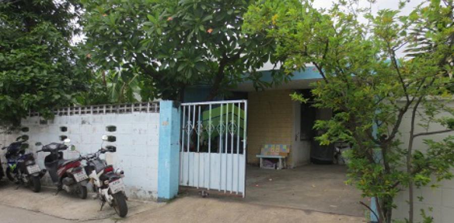หมู่บ้านเลิศนิมิต หัวหมาก9 รามคำแหง 24 ขายด่วน  ที่ดินแถมบ้านเดี่ยว  52 ตร.ว ราคาต่อรองได้