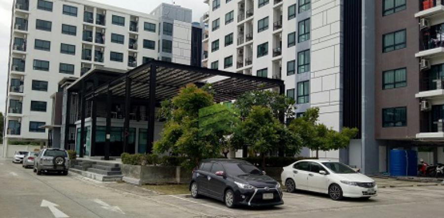 ดิ อเวนิว สปริง แอท เอแบค บางนา คอนโด  The Avenue Spring @ ABAC Bangna  ตึก A ชั้น 6  บางนาตราด กม.26 บางเสาธง