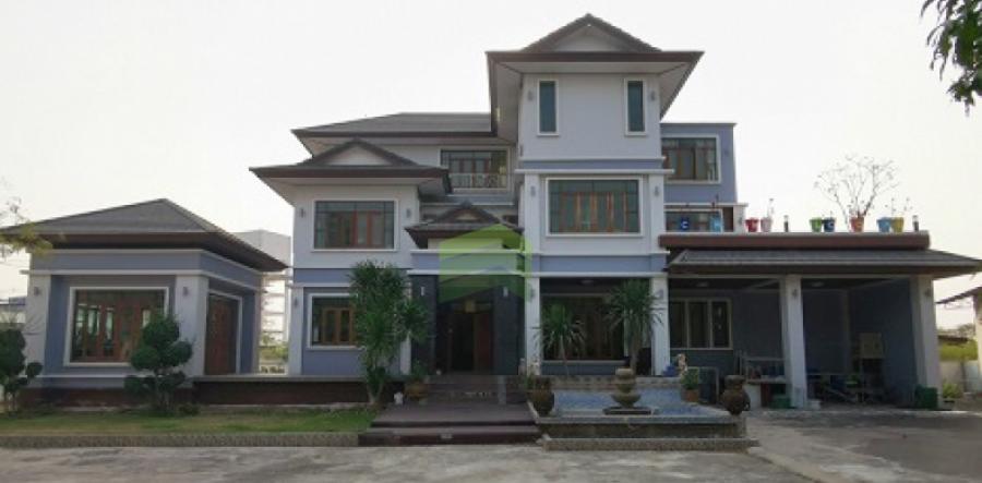 ขายด่วน บ้านเดี่ยว 3 ชั้น ต.ท่าทราย เมืองสมุทรสาคร เนื้อที่ 1-0-54 ไร่ บ้านหรู แต่งสวย พร้อมสระว่ายน้ำ