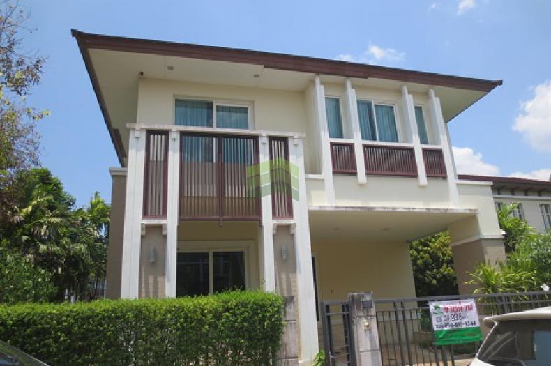หมู่บ้าน เดอะ ซิตี้ 2 พระราม 5 ราชพฤกษ์ The City Rama 5 Ratchapruek ขายด่วน บ้านเดี่ยว 2 ชั้น แปลงมุม ติดสโมสรคลับเฮ้าส์ เนื้อที่ 88.80 ตร.ว บ้านใหม่ แต่งสวย พร้อมอยู่