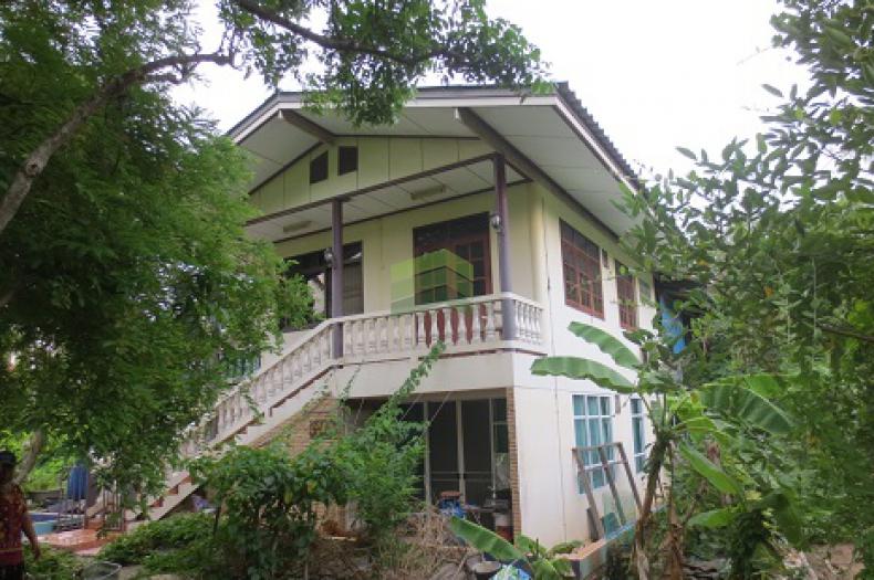 ขายด่วน ที่ดินสวน พร้อม บ้านเดี่ยว 2 หลัง บน เกาะเกร็ด ใกล้ วัดศาลากุล เนื้อที่ 4 ไร่ 3 งาน 06 ตร.ว. เหมาะทำธุรกิจ