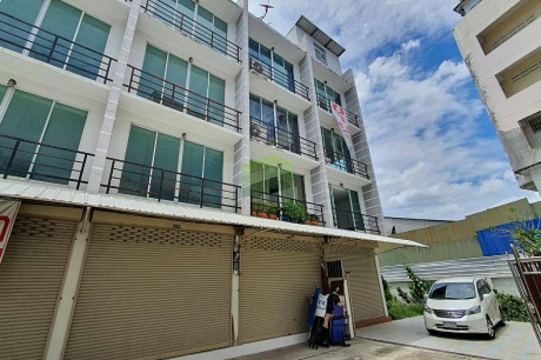 ขาย / เช่า หมู่บ้าน ศรีเมือง วิลเลจ Srimuang Village บางศรีเมือง อาคารพาณิชย์ 5 ชั้น เนื้อที่ 46.20 ตรว.แปลงมุม ติดถนนหลัก บางกรวย-ไทรน้อย บางกร่าง นนทบุรี อาคารใหม่ ยังไม่เคยเข้าอยู่ ตกแต่งสวย พร้อมอยู่