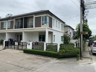 N0601225, หมู่บ้าน ดีไลท์ เดอ ลอฟท์ ดอนเมือง รังสิต Delight The Loft Donmeung-Rangsit ขายด่วน ทาวน์โฮม 2 ชั้น เนื้อที่ 47.50 ตร.ว แปลงมุม พร้อมอยู่
