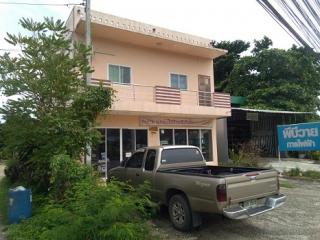 N0601189, ขายด่วน ตึก อาคารพาณิชย์ 2 ชั้น 2 คูหา ติดถนนกาญจนวณิช หาดใหญ่ เนื้อที่ 59 ตร.ว ทำเลดี เหมาะประกอบธุรกิจ, ค้าขาย, พักอาศัย