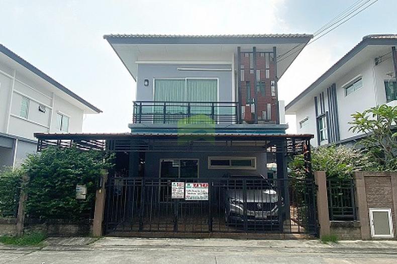 หมู่บ้าน เดอะ แพลนท์ THE PLANT ถนน เศรษฐกิจ 1 นาดี ขายด่วน บ้านเดี่ยว 2 ชั้น เนื้อที่ 35.50 ตร.ว สวย พร้อมอยู่