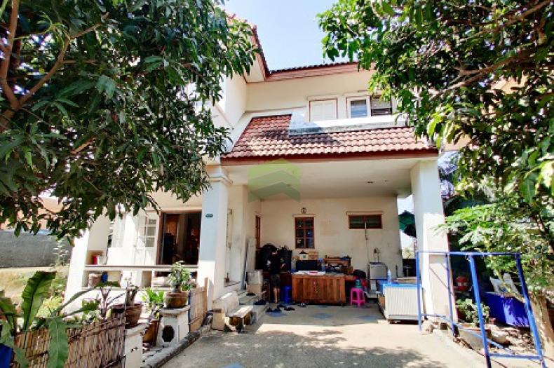 หมู่บ้าน ประภาวรรณโฮม 2 ขายด่วน บ้านเดี่ยว 2 ชั้น เนื้อที่ 53.50 ตร.ว ถูกมาก พร้อมต่อรอง ถนนบึงขวาง มีนบุรี