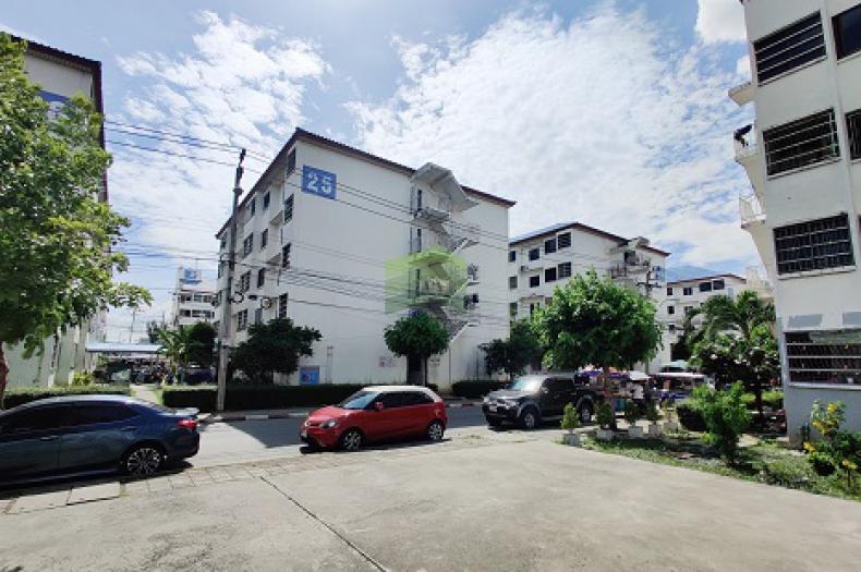 บ้านเอื้ออาทร มีนบุรี 1 ขายด่วน ห้องชุด เนื้อที่ 24.07 ตร.ม ชั้น 5 ห้องมุม ซอยรามอินทรา 127 ทำเลดี ราคาถูก