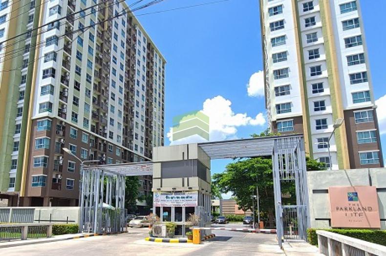 คอนโด เดอะ พาร์คแลนด์ ไลท์ สุขุมวิท-ปากน้ำ Condo The Parkland Lite Sukhumvit – Paknam ขายด่วน คอนโด 28.48 ตร.ม ชั้น 14 อาคาร B ทำเลดี ใกล้ BTS สถานี ปากน้ำ