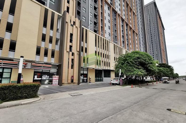 พลัมคอนโด เซ็นทรัล สเตชั่น เฟส 2 ขายด่วน ห้องชุด ชั้น 10 ตึก B เนื้อที่ 24.38 ตร.ม ทำเลดี ใกล้ MRT สามแยกบางใหญ่