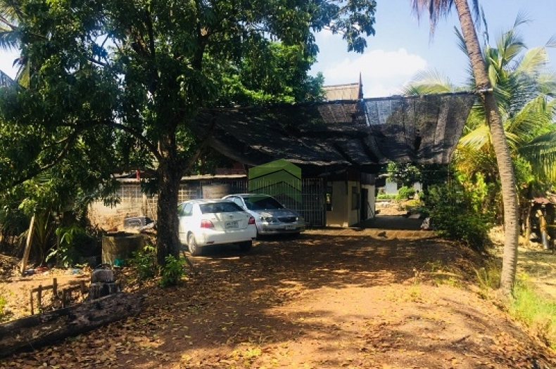 ขายด่วน ที่ดินเปล่า พร้อมบ้านเรือนไทยไม้สักทอง เพชรเกษม 68 แยก 25 ถนนเพชรเกษม บางแคเหนือ บางแค กทม