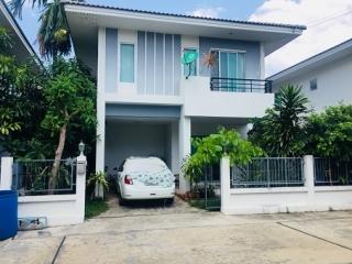 N0600445, ขายด่วน บ้านเดี่ยว 2 ชั้น หมู่บ้านภัทรีดา วิลล่า  Patreeda Villa เนื้อที่ 37.60 ตรว. ตำบลบางเดื่อ อำเภอเมือง ปทุมธานี