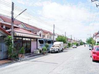 N0600568, หมู่บ้านแพรมาพร คลอง4 ขายด่วน ทาวน์เฮาส์ 2 ชั้น เนื้อที่ 30 ตร.ว. ตำบลบึงยี่โถ  อำเภอธัญบุรี  ปทุมธานี