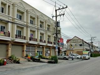 N0600607, หมู่บ้าน วิคทอเรีย ไพร์เวท ซิตี้ (Victoria Private City) ขายด่วน อาคารพาณิชย์  3 ชั้น เนื้อที่ 21 ตร.ว บางนาตราด กม. 37  หอมศีล บางปะกง ฉะเชิงเทรา