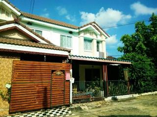 N0600584 , หมู่บ้าน พฤกษา 60 รังสิต บางพูน  Baan Pruksa 60 Rangsit Bangpoon ขายด่วน ทาวน์เฮาส์ 2 ชั้น  เนื้อที 39.10 ตร.ว  ปทุมธานี