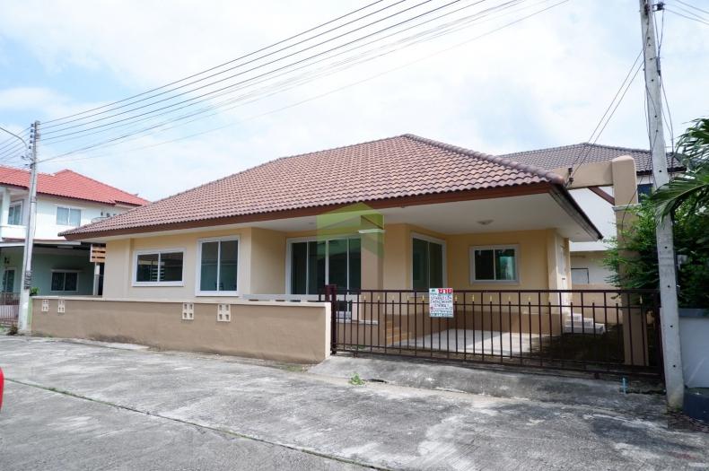 Saranrom  หมู่บ้านสราญรมย์ นครปฐม  ขายด่วน บ้านเดี่ยว 1 ชั้น เนื้อที่ 52.30 ตรว. วังตะกู เมืองนครปฐม บ้านใหม่ สวย พร้อมอยู่อาศัย