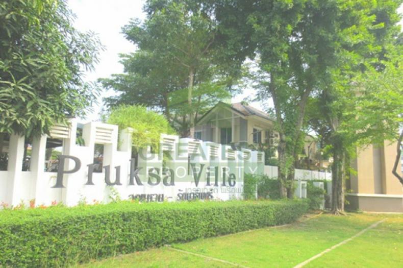 หมู่บ้านพฤกษาวิลล์ 28 รัตนาธิเบศร์ Pruksa Ville ขายด่วน ทาวน์เฮ้าส์ 2 ชั้น เนื้อที่ 19.70 ตร.ว. ถนนแก้วอินทร์ เสาธงหิน บางใหญ่ นนทบุรี