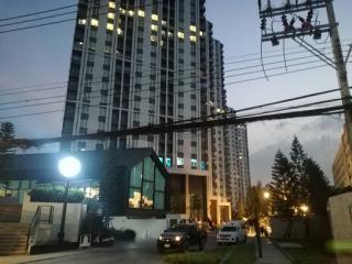 0600562, ขายดาวน์คอนโดแชบเตอร์วัน  อีโค่ รัชดา-ห้วยขวาง (Chapter One Eco Ratchada-Huaikwang) เท่าทุน 23.26 ตารางเมตร ห้องมุม ตึก H ชั้นที่ 22 พร้อมเฟอร์นิเจอร์ครบชุด ใกล้ MRT สถานีห้วยขวาง