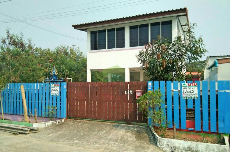 ขายด่วน  บ้านเดี่ยว 2 ชั้น ซ.โชคเจริญ (ซ.ตาเจียน) ไทรน้อย  เนื้อที่ 51.70 ตร.ว  ถ.บางกรวย -ไทรน้อย อ.ไทรน้อย จ.นนทบุรี