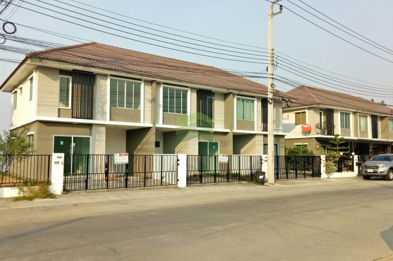 ม.พฤกษาวิลล์66/2 บางนา-หนามแดง ขายด่วน ทาวน์เฮาส์ 2 ชั้น  Pruksa Ville 66/2 Bangna – Nhamdaeng  เนื้อที่ 29.10 ตร.ว บ้านใหม่ แปลงมุม