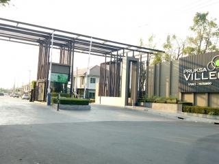 N0600705, Pruksa Ville 66/2 Bangna – Nhamdaeng  ขายด่วน ทาวน์เฮาส์ 2 ชั้น  ม.พฤกษาวิลล์66/2 บางนา-หนามแดง เนื้อที่ 19.90 ตร.ว บ้านใหม่ ทำเลดี