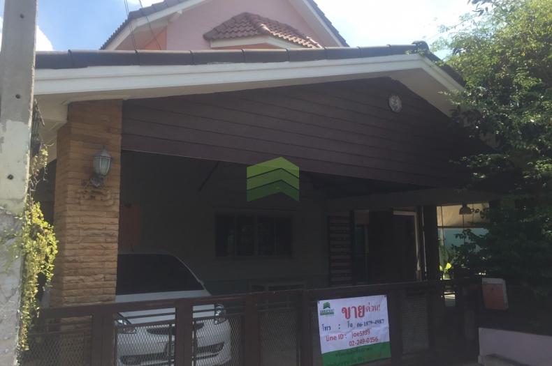 หมู่บ้าน ทวีลดา3 ลำลูกกา คลอง1 ขายด่วน บ้านเดี่ยว 2 ชั้น เนื้อที่ 78 ตร.ว.  บ้านสวย  ทำเลดี