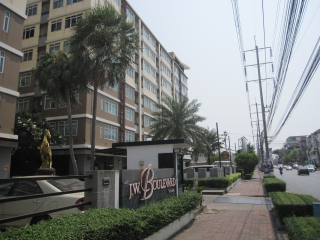 N0600689, J.W. Boulevard Srivara (เจ ดับบลิว บูเลอวาร์ด ศรีวรา) ขายด่วน คอนโด ชั้น 5 ห้องมุม  53.36 ตร.ม. พร้อมเฟอร์ ถูกที่สุดในย่านทาวน์อินทาวน์