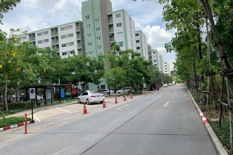 ให้เช่า คอนโดลุมพินี ทาวน์ชิป รังสิต คลอง1 Lumpini township rangsit klong-1  เนื้อที่ 21.50 ตร.ม. อาคาร A5 ชั้น 5 ธัญบุรี ปทุมธานี ห้องใหม่ พร้อมอยู่