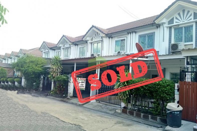 หมู่บ้าน พฤกษาวิลล์24 ศรีนครินทร์ หนามแดง ขายด่วน ทาวน์เฮ้าส์ 2 ชั้น เนื้อที่ 18.10 ตร.ว พร้อมอยู่ ราคาไม่แพง Pruksa Ville 24 Srinakarin-Namdaeng