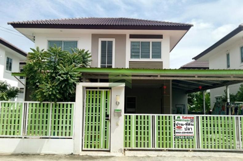 หมู่บ้าน สุขุมวิทไลท์ (สุขุมวิท1) บางสมัคร ขายด่วน บ้านเดี่ยว 2 ชั้น เนื้อที่ 51.30 ตร.ว ทำเลดี พร้อมอยู่