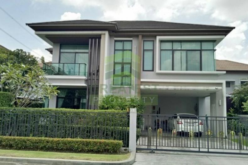 หมู่บ้าน เดอะแกรนด์ บางนา วงแหวน  The Grand Bangna – Wongwaen  ขายด่วน บ้านเดี่ยว 2 ชั้น เนื้อที่ 90 ตร.ว ถนนเลียบวงแหวน-อ่อนนุช ลาดกระบัง ดอกไม้ ประเวศ  แต่งสวย พร้อมอยู่