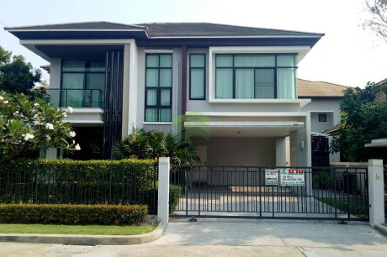 ขาย ให้เช่าด่วน หมู่บ้าน เดอะแกรนด์ บางนา วงแหวน The Grand Bangna – Wongwaen บ้านเดี่ยว 2 ชั้น เนื้อที่ 90 ตร.ว ถนนเลียบวงแหวน-อ่อนนุช ลาดกระบัง ดอกไม้ ประเวศ  แต่งสวย พร้อมอยู่