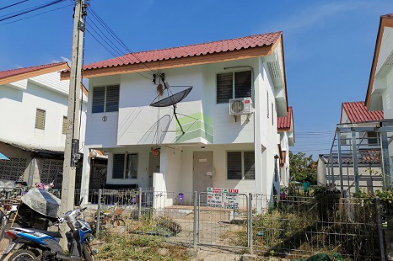 ขายด่วน บ้านแฝด 2 ชั้น บ้านเอื้ออาทร จังหวัดสมุทรสงคราม บางแก้ว เนื้อที่ 20.90 ตร.ว ต.บางแก้ว เมือง สมุทรสงคราม  ทำเลดี เหมาะพักอาศัย ใกล้แหล่งท่องเที่ยว