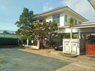 N0601330, หมู่บ้าน เพอร์เฟค พาร์ค บางบัวทอง PERFECT PARK BANGBUATHONG  ขายด่วน บ้านเดี่ยว 2 ชั้น เนื้อที่ 40.10 ตรว. บ้านคุณภาพในเครือ พร็อพเพอร์ตี้ เพอร์เฟค บางบัวทอง