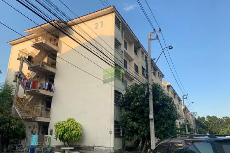 ขายด่วน คอนโด เคหะชุมชนนนทบุรี ซอย ติวานนท์ – ปากเกร็ด 15 ตึก 21 เนื้อที่ 33.58 ตร.ม  ปากเกร็ด นนทบุรี