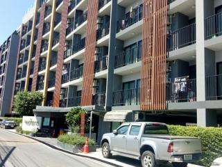N0601054, ขาย / ให่เช่า คอนโด ทรอปิคาน่า เอราวัณ Tropicana BTS Erawan ขายด่วน คอนโดห้องชุด อาคารบี ชั้น 2 เนื้อที่ 29.20 ตร.ม. ทำเลดี พร้อมเฟอร์ฯ